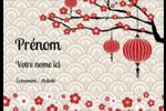 Nouvel An chinois Étiquettes à codage couleur - gabarit prédéfini. <br/>Utilisez notre logiciel Avery Design & Print Online pour personnaliser facilement la conception.