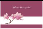 Magnolia printanier Étiquettes d'expédition - gabarit prédéfini. <br/>Utilisez notre logiciel Avery Design & Print Online pour personnaliser facilement la conception.