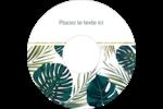 Verdure tropicale Étiquettes de classement - gabarit prédéfini. <br/>Utilisez notre logiciel Avery Design & Print Online pour personnaliser facilement la conception.