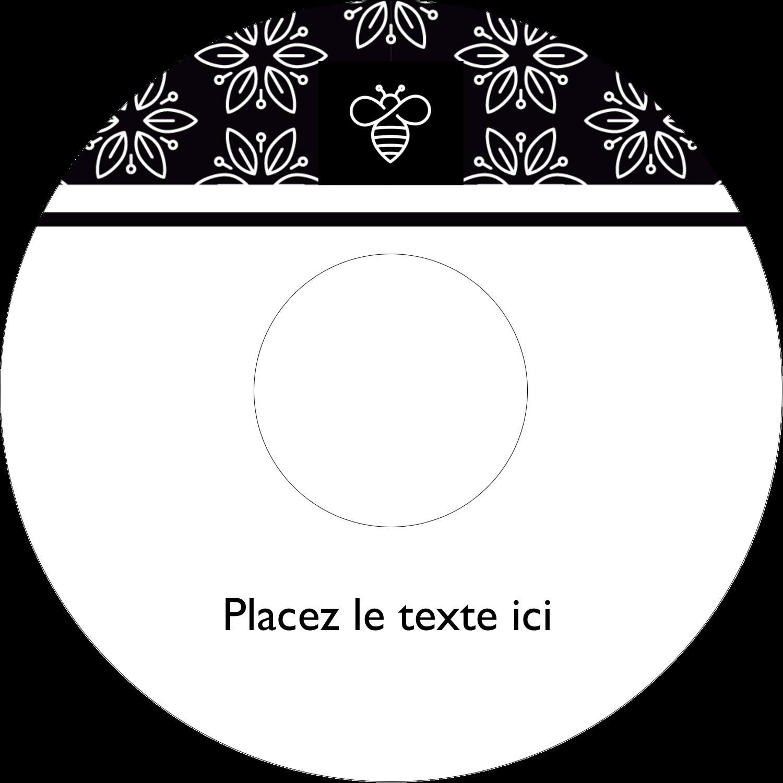 Abeille butineuse Étiquettes Pour Médias - gabarit prédéfini. <br/>Utilisez notre logiciel Avery Design & Print Online pour personnaliser facilement la conception.