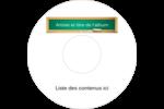 Tableau vert Étiquettes de classement - gabarit prédéfini. <br/>Utilisez notre logiciel Avery Design & Print Online pour personnaliser facilement la conception.