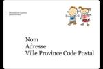 Éducation des enfants Étiquettes D'Identification - gabarit prédéfini. <br/>Utilisez notre logiciel Avery Design & Print Online pour personnaliser facilement la conception.