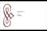 Diamant stylisé Étiquettes D'Identification - gabarit prédéfini. <br/>Utilisez notre logiciel Avery Design & Print Online pour personnaliser facilement la conception.