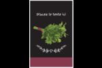 Persil, épices et fines herbes sur tableau noir Reliures - gabarit prédéfini. <br/>Utilisez notre logiciel Avery Design & Print Online pour personnaliser facilement la conception.
