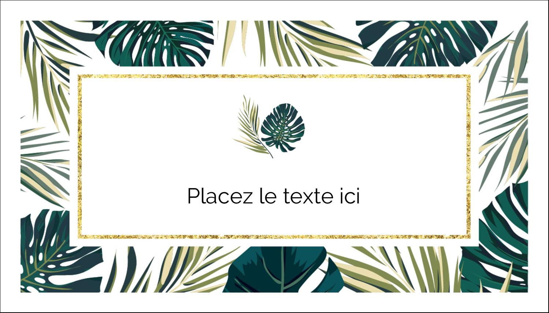 """3"""" x 5"""" Cartes Pour Le Bureau - Verdure tropicale"""