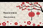 Nouvel An chinois Cartes Pour Le Bureau - gabarit prédéfini. <br/>Utilisez notre logiciel Avery Design & Print Online pour personnaliser facilement la conception.
