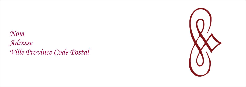 """4¼"""" x 2"""" Étiquettes Pour Copieurs - Diamant stylisé"""