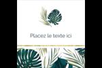 Verdure tropicale Étiquettes enveloppantes - gabarit prédéfini. <br/>Utilisez notre logiciel Avery Design & Print Online pour personnaliser facilement la conception.