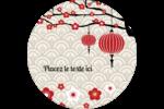 Nouvel An chinois Étiquettes de classement - gabarit prédéfini. <br/>Utilisez notre logiciel Avery Design & Print Online pour personnaliser facilement la conception.