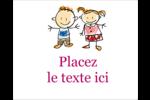 Éducation des enfants Étiquettes rectangulaires - gabarit prédéfini. <br/>Utilisez notre logiciel Avery Design & Print Online pour personnaliser facilement la conception.