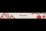 Nouvel An chinois Étiquettes ovales - gabarit prédéfini. <br/>Utilisez notre logiciel Avery Design & Print Online pour personnaliser facilement la conception.