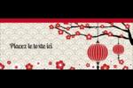 Nouvel An chinois Affichette - gabarit prédéfini. <br/>Utilisez notre logiciel Avery Design & Print Online pour personnaliser facilement la conception.