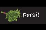 Persil, épices et fines herbes sur tableau noir Étiquettes D'Adresse - gabarit prédéfini. <br/>Utilisez notre logiciel Avery Design & Print Online pour personnaliser facilement la conception.