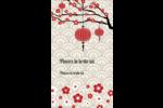 Nouvel An chinois Carte d'affaire - gabarit prédéfini. <br/>Utilisez notre logiciel Avery Design & Print Online pour personnaliser facilement la conception.