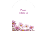 Mariage printanier rose Étiquettes arrondies - gabarit prédéfini. <br/>Utilisez notre logiciel Avery Design & Print Online pour personnaliser facilement la conception.