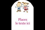 Éducation des enfants Étiquettes arrondies - gabarit prédéfini. <br/>Utilisez notre logiciel Avery Design & Print Online pour personnaliser facilement la conception.