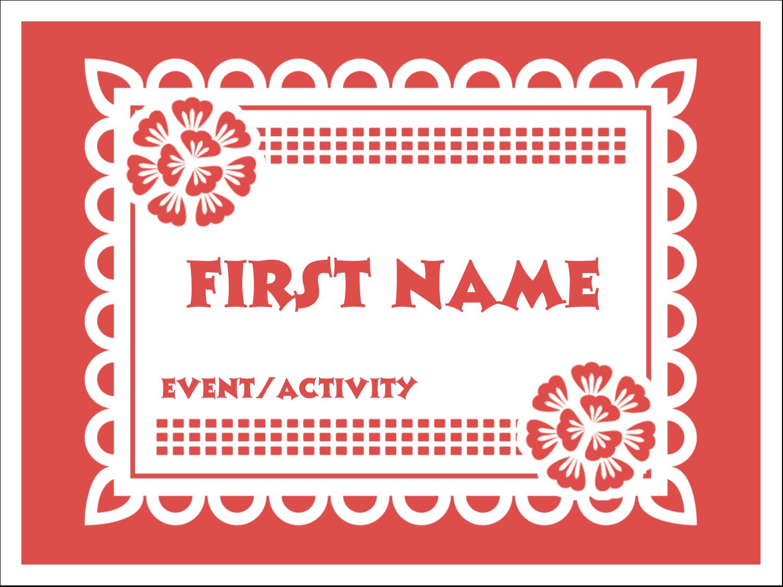 image relating to Papel Picado Templates Printable identify Cinco de Mayo Papel Picado predesigned template for your