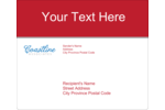 Your project will make a great impression with pre-designed Coastline Red templates.