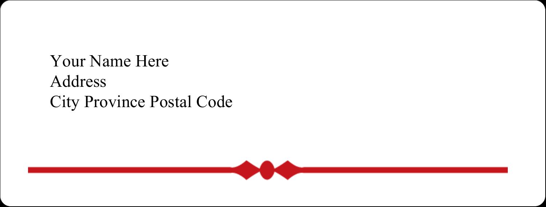 "1"" x 2⅝"" Address Label - Classic Wool"