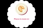 Nouvel An chinois avec biscuit Étiquettes D'Adresse - gabarit prédéfini. <br/>Utilisez notre logiciel Avery Design & Print Online pour personnaliser facilement la conception.