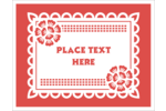 Add crafty style to projects with pre-designed Cinco de Mayo Papel Picado templates.