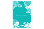 Signes du printemps Étiquettes rondes - gabarit prédéfini. <br/>Utilisez notre logiciel Avery Design & Print Online pour personnaliser facilement la conception.