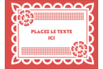 Confettis de Cinco de Mayo Étiquettes rondes - gabarit prédéfini. <br/>Utilisez notre logiciel Avery Design & Print Online pour personnaliser facilement la conception.