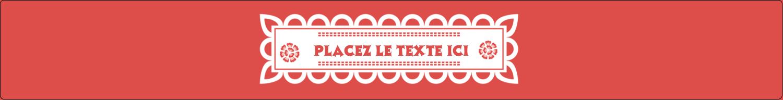 """1½"""" x 2½"""" Étiquettes ovales - Confettis de Cinco de Mayo"""