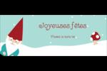 Lutin de Noël Affichette - gabarit prédéfini. <br/>Utilisez notre logiciel Avery Design & Print Online pour personnaliser facilement la conception.