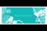 Signes du printemps Affichette - gabarit prédéfini. <br/>Utilisez notre logiciel Avery Design & Print Online pour personnaliser facilement la conception.
