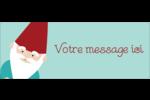 Lutin de Noël Étiquettes D'Adresse - gabarit prédéfini. <br/>Utilisez notre logiciel Avery Design & Print Online pour personnaliser facilement la conception.