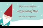 Lutin de Noël Carte d'affaire - gabarit prédéfini. <br/>Utilisez notre logiciel Avery Design & Print Online pour personnaliser facilement la conception.