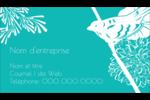 Signes du printemps Carte d'affaire - gabarit prédéfini. <br/>Utilisez notre logiciel Avery Design & Print Online pour personnaliser facilement la conception.