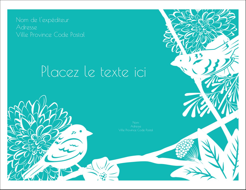 """4¼"""" X 5½"""" Carte Postale - Signes du printemps"""