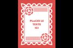 Confettis de Cinco de Mayo Carte Postale - gabarit prédéfini. <br/>Utilisez notre logiciel Avery Design & Print Online pour personnaliser facilement la conception.