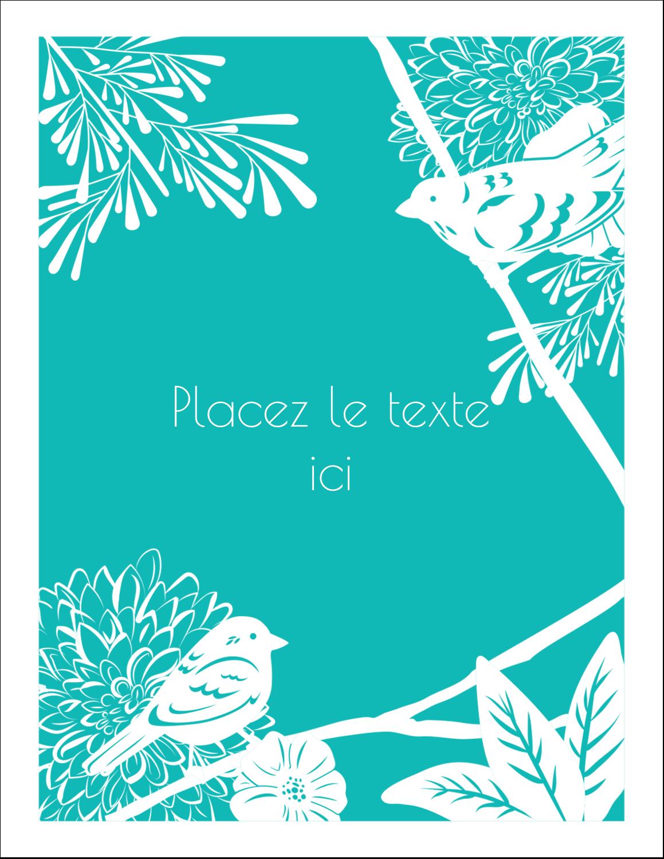 """5½"""" x 4¼"""" Carte Postale - Signes du printemps"""