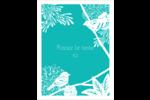 Signes du printemps Carte Postale - gabarit prédéfini. <br/>Utilisez notre logiciel Avery Design & Print Online pour personnaliser facilement la conception.