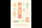 Horloges Étiquettes rondes - gabarit prédéfini. <br/>Utilisez notre logiciel Avery Design & Print Online pour personnaliser facilement la conception.