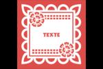 Confettis de Cinco de Mayo Étiquettes enveloppantes - gabarit prédéfini. <br/>Utilisez notre logiciel Avery Design & Print Online pour personnaliser facilement la conception.