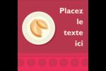 Nouvel An chinois avec biscuit Étiquettes enveloppantes - gabarit prédéfini. <br/>Utilisez notre logiciel Avery Design & Print Online pour personnaliser facilement la conception.