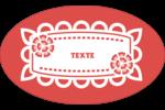 Confettis de Cinco de Mayo Étiquettes carrées - gabarit prédéfini. <br/>Utilisez notre logiciel Avery Design & Print Online pour personnaliser facilement la conception.
