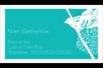 Signes du printemps Cartes Pour Le Bureau - gabarit prédéfini. <br/>Utilisez notre logiciel Avery Design & Print Online pour personnaliser facilement la conception.
