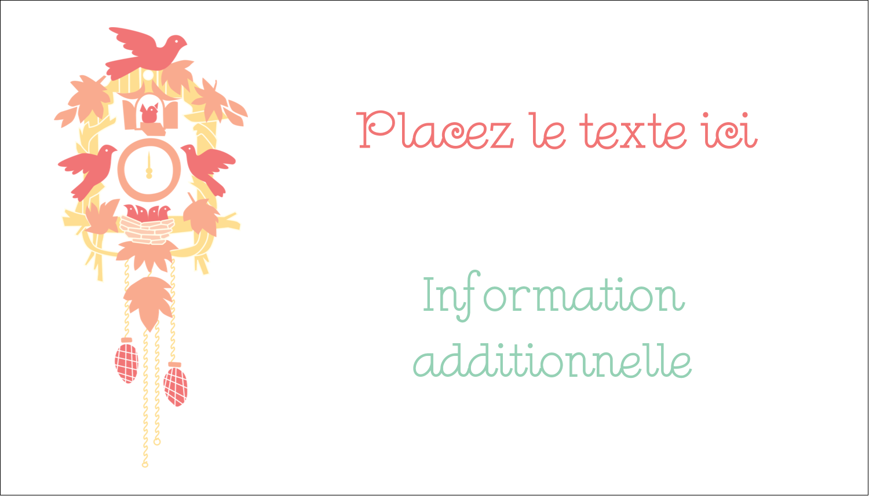 """3"""" x 5"""" Cartes Pour Le Bureau - Horloges"""
