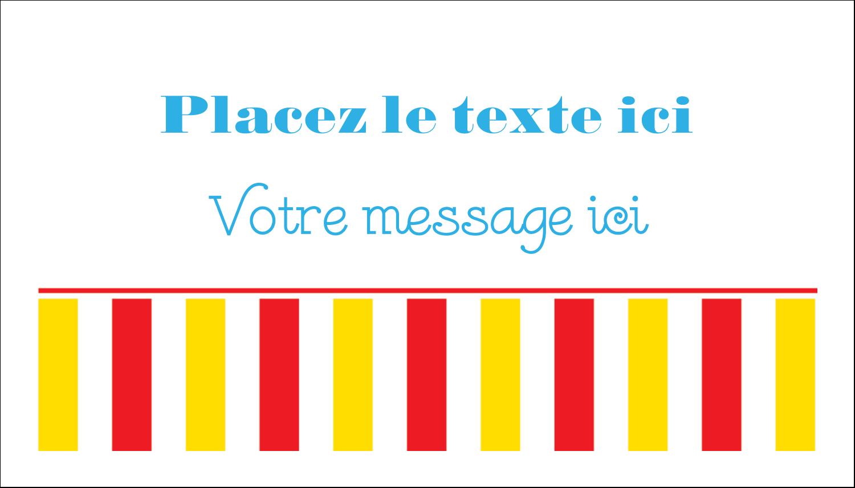 """3"""" x 5"""" Cartes Pour Le Bureau - Chapiteau de cirque"""