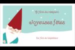 Lutin de Noël Cartes Pour Le Bureau - gabarit prédéfini. <br/>Utilisez notre logiciel Avery Design & Print Online pour personnaliser facilement la conception.