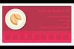 Nouvel An chinois avec biscuit Cartes Pour Le Bureau - gabarit prédéfini. <br/>Utilisez notre logiciel Avery Design & Print Online pour personnaliser facilement la conception.
