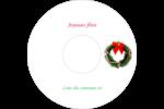 Couronne de Noël Étiquettes de classement - gabarit prédéfini. <br/>Utilisez notre logiciel Avery Design & Print Online pour personnaliser facilement la conception.