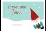 Lutin de Noël Étiquettes à codage couleur - gabarit prédéfini. <br/>Utilisez notre logiciel Avery Design & Print Online pour personnaliser facilement la conception.