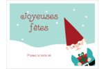 Lutin de Noël Badges - gabarit prédéfini. <br/>Utilisez notre logiciel Avery Design & Print Online pour personnaliser facilement la conception.