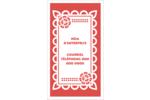 Confettis de Cinco de Mayo Carte d'affaire - gabarit prédéfini. <br/>Utilisez notre logiciel Avery Design & Print Online pour personnaliser facilement la conception.